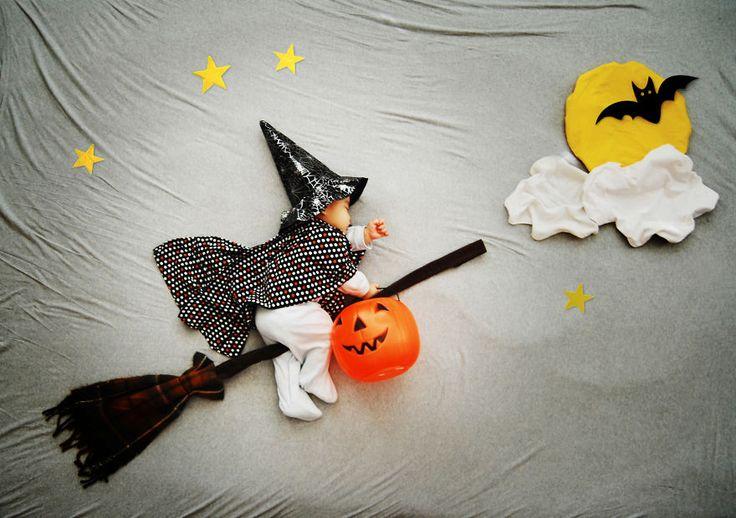Baby elves love Halloween!