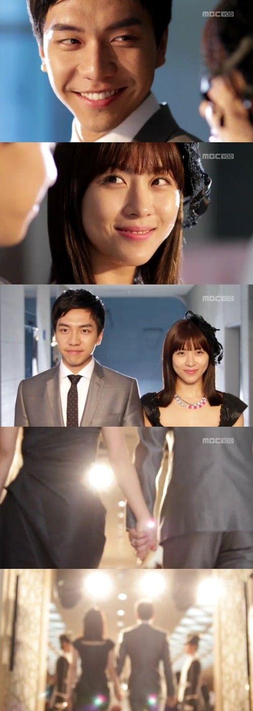 Rey Lee Jae Ha y su esposa Kim Hang Ah - The King 2Hearts Episodio 20 i like his hair short like this