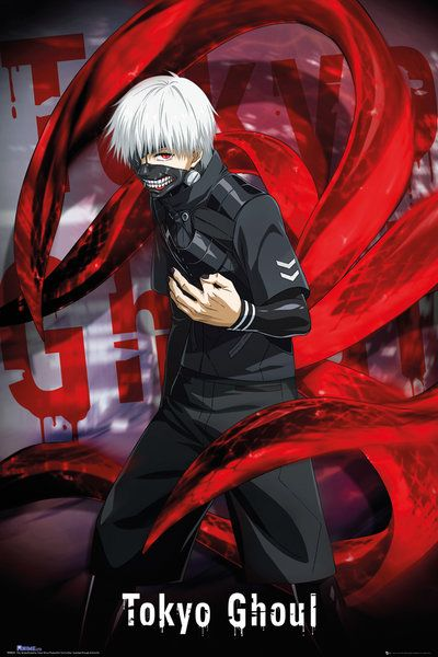 Tokyo Ghoul - I have this in poster form in my room and I love it~