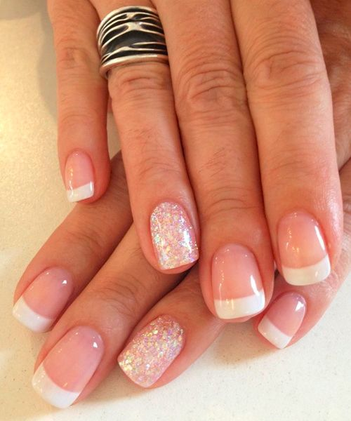 Prettiest Gel French Manicure 2018