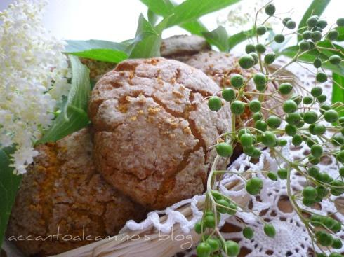 Biscottoni ai fiori di sambuco.