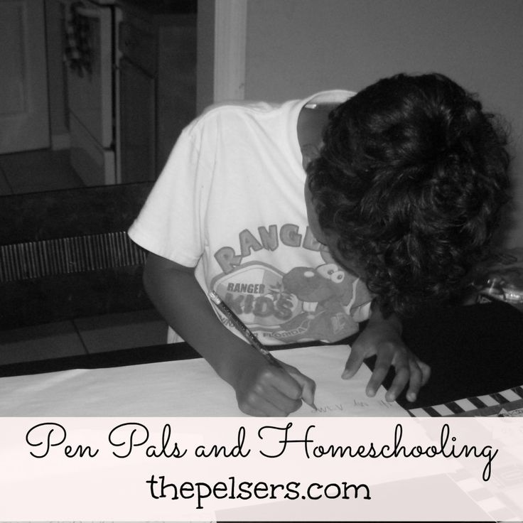 Sharing 4 benefits of pen pals and homeschooling.