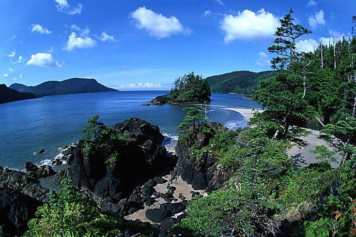 San Joseph Bay, Cape Scott Provincial Park, North Vancouver Island, British Columbia, Canada
