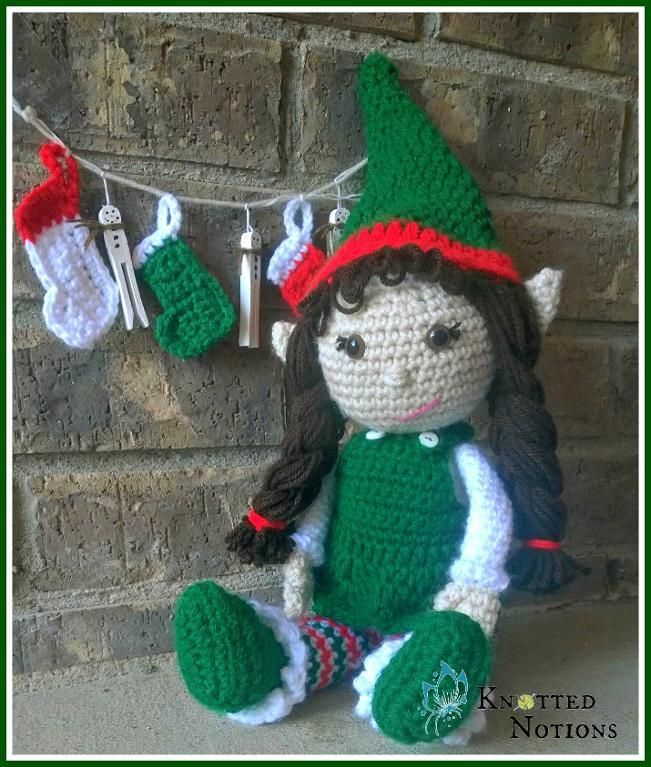 Carol and Craig The ... by Knotted Notions | Crocheting Pattern - Looking for your next project? You're going to love Carol and Craig The Elves by designer Knotted Notions. - via @Craftsy