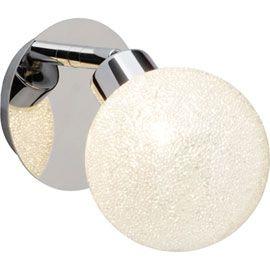Spot Pacome métal/verre patère LED G9 3W