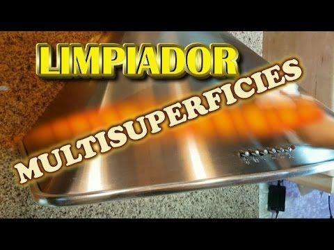 LIMPIADOR MULTISUPERFICIES, ARRANCA TODO TIPO DE SUCIEDAD POTENTE