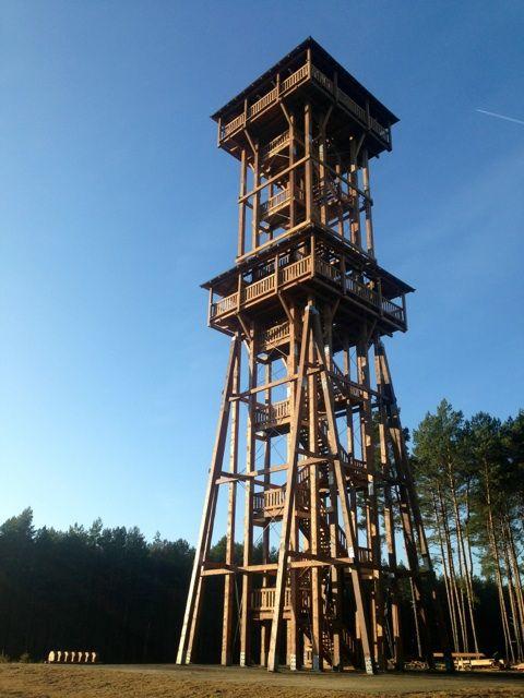 Znalezione obrazy dla zapytania wieża widokowa sława