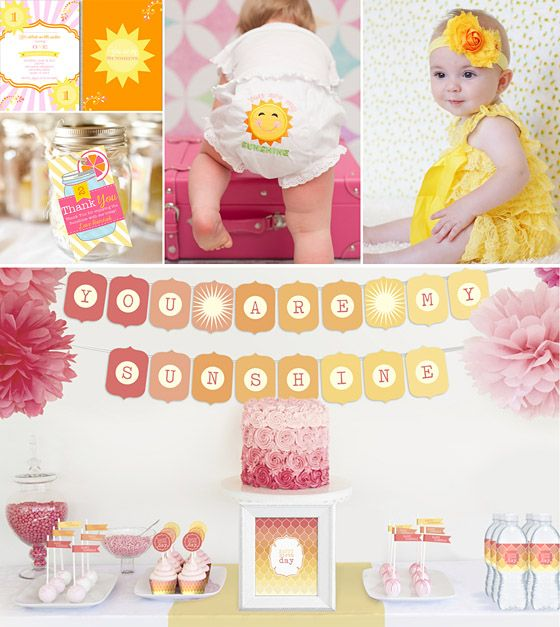 Fun Turning One! 5 Unique Party Themes For Girls » Daily