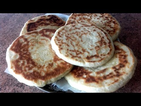 Pan marroquí esponjoso, rápido y sin horno - YouTube