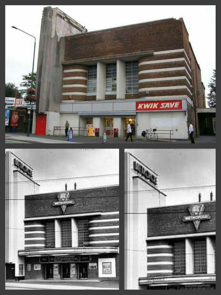 The Metropole Cinema that later became Kwik Save on Mansfield Road in Sherwood