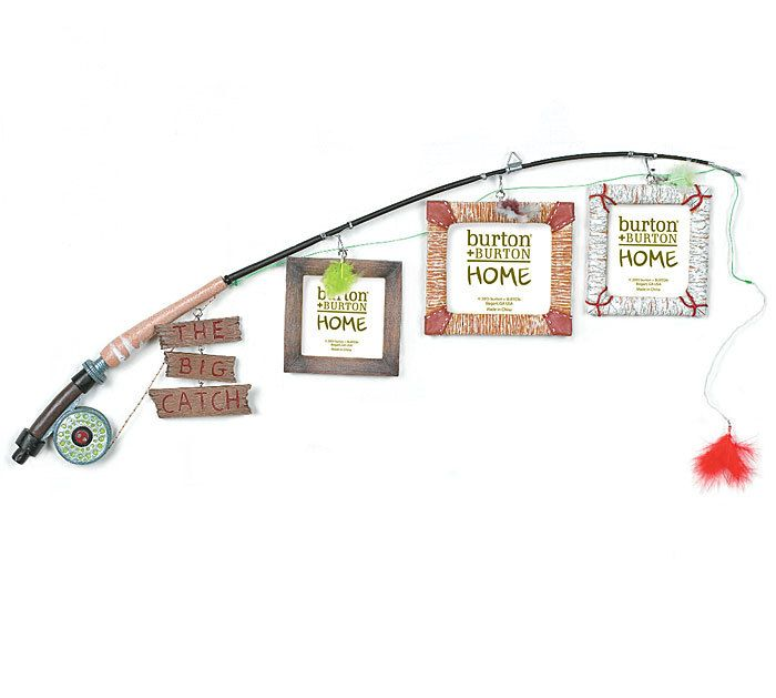 Blueberry Lane Gifts - Fishing Creel The Big Catch Fishing Pole Frame, $20.99 http://shop.blueberrylanestore.com/fishing-creel-the-big-catch-fishing-pole-frame/ Fishing, Frames, Home Decor