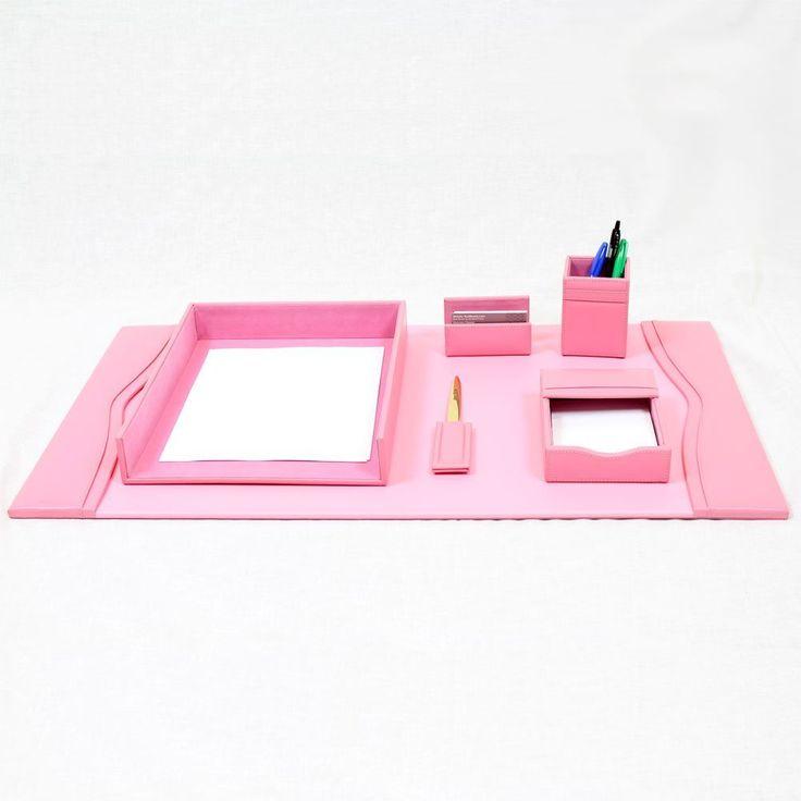 Pink Desk Accessories Set - Home Office Furniture Desk Check more at http://michael-malarkey.com/pink-desk-accessories-set/