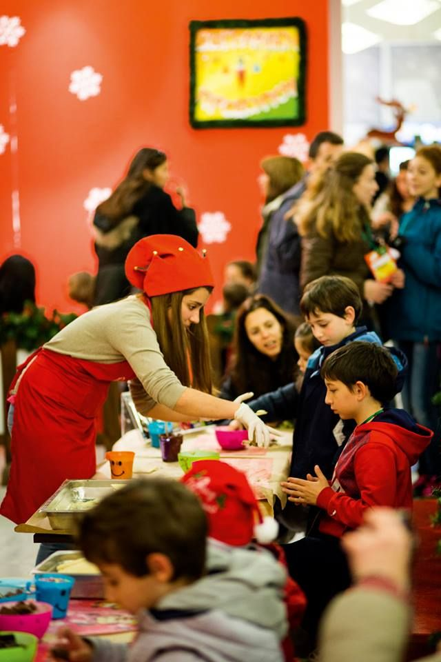 VISIT GREECE| The Christmas Factory  #Athens #Technopolis #visitgreece #christmas. The Sweet Factory