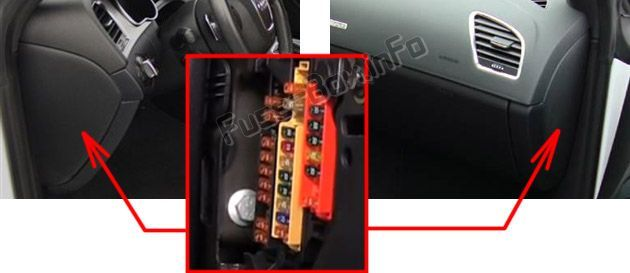 A5 Audi 2012 Electric Fuse Box