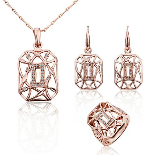 Virgin Shine 18K Gold Plated Rhinestones Square Full Jewelry Sets VIRGIN SHINE http://www.amazon.co.uk/dp/B00LDU3B02/ref=cm_sw_r_pi_dp_HYrNub0RMF9AF
