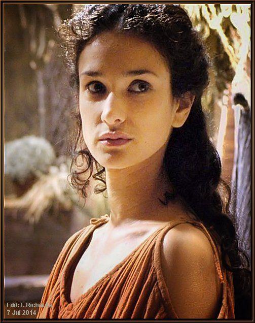 The beautiful Indira Varma as Niobe