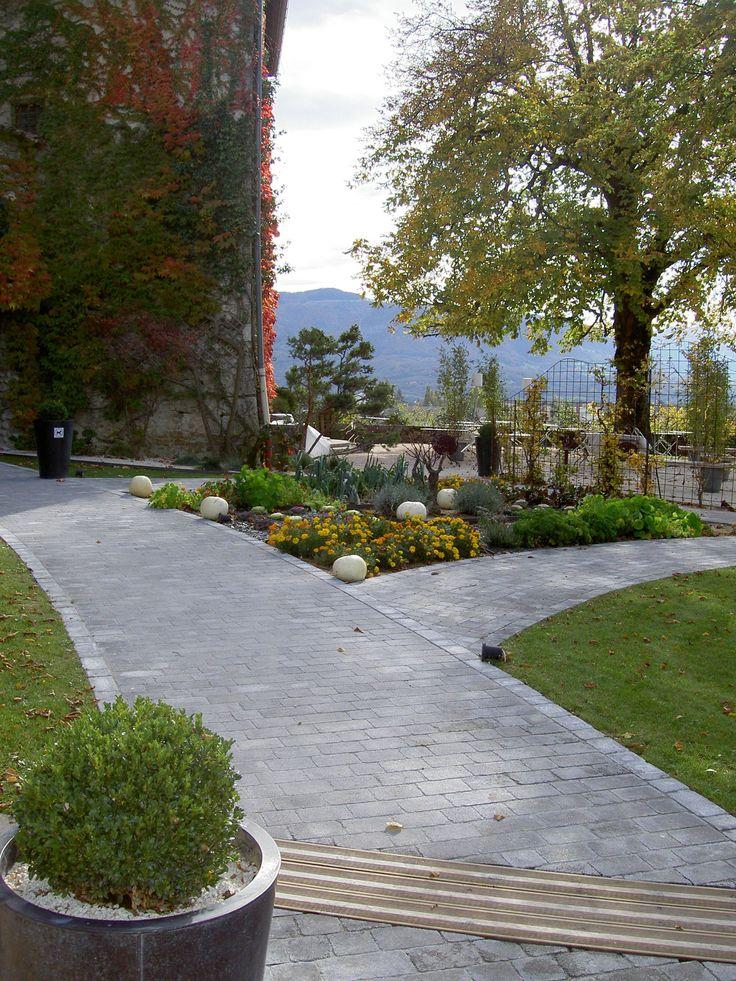 8 best pavés allée garage images on Pinterest Oslo, Garage and - pave pour terrasse exterieur