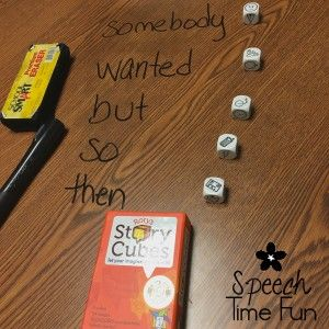 Speech Time Fun: Rory's Story Cubes