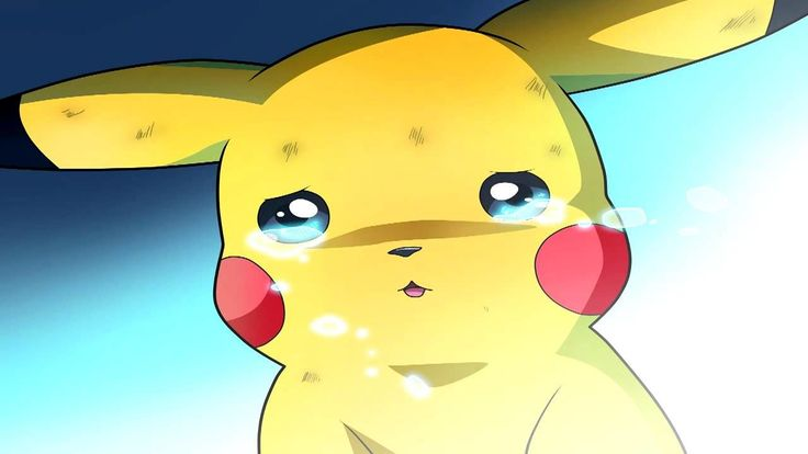 Pikachu Mourns Pokemon HD Wallpaper