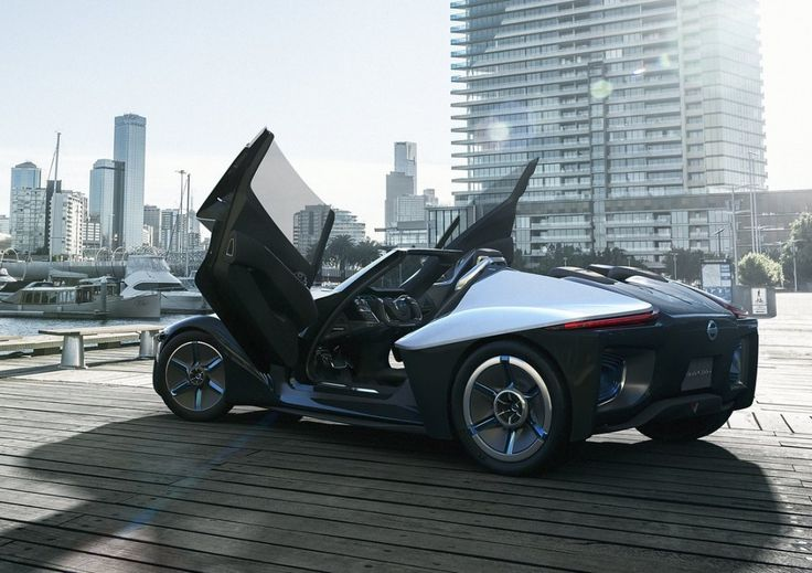 Black Jaguar Car2015 | Nissan BladeGlider Electric Sports Car Concept - 2013 Tokyo Motor Show