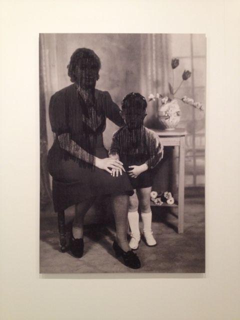 Lost Memory (Mother & Child), 2006. Ronny Delrue - 'Secret Passions exhibition' @ Tripostal (Lille, France)