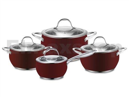 Výsledek obrázku pro indukční nádobí červené