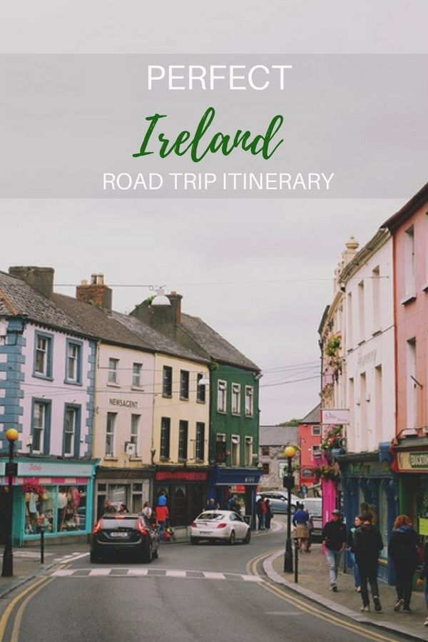 The perfect road trip itinerary for your vacation in Ireland. Find out the best way to visit Ireland must see attractions  with these itineraries for one week, ten days or 2 weeks in ireland. #ireland #roadtrip #itinerary #vacation #irelandtravel