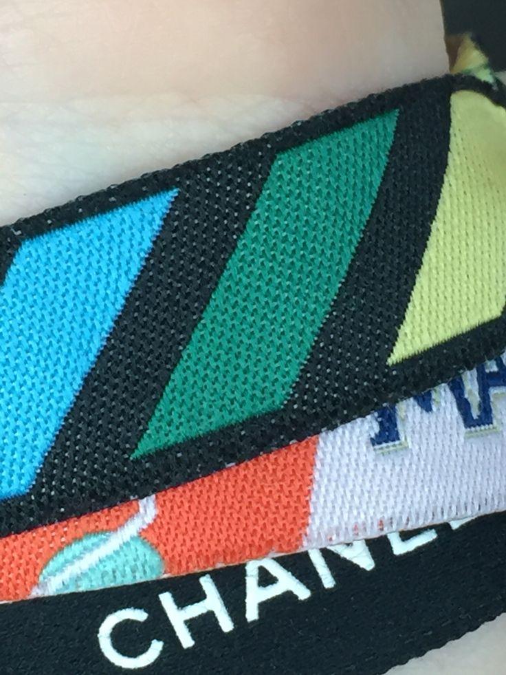 De gekleurde strepen