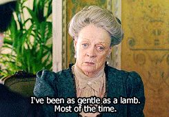 """Downton Abbey - Dowager Countess of Grantham (Violet Crawley ♔ Maggie Smith) #3 - """"It seems a pity to miss such good pudding."""" - Fan Forum"""