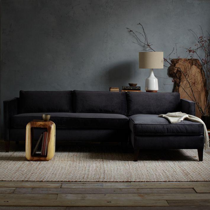 25+ beste ideeën over Zwarte woonkamers op Pinterest - Zwart ...