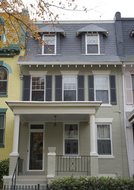Nantucket Gray Exterior Home Design Pinterest