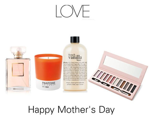 """""""Presents for Mother's Day"""" by olesyabond ❤ liked on Polyvore featuring Schönheit, Pantone, philosophy, Chanel, MothersDay, presents und mother"""