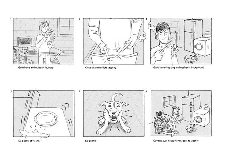 commercial storyboard - Google zoeken Research les Storyboard - commercial storyboards