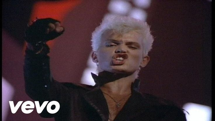 Billy Idol - Flesh For Fantasy [Official Video] #80's
