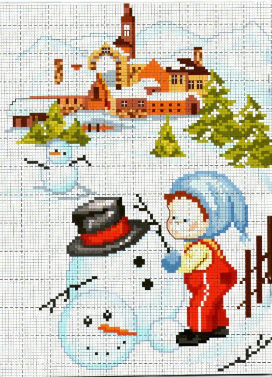 Gallery.ru / Фото #32 - Cose per creare Natale Bambini - tani211