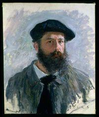 Claude Monet auto-retrato