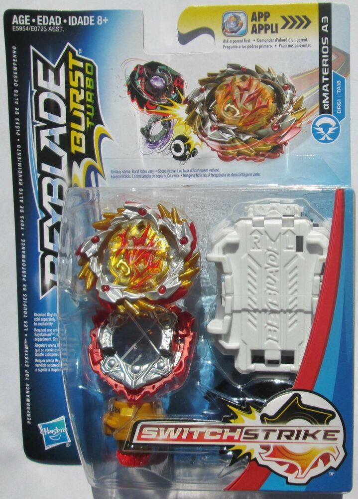 Beyblade Burst Turbo Switch Strike Amaterios A3 Hasbro Us