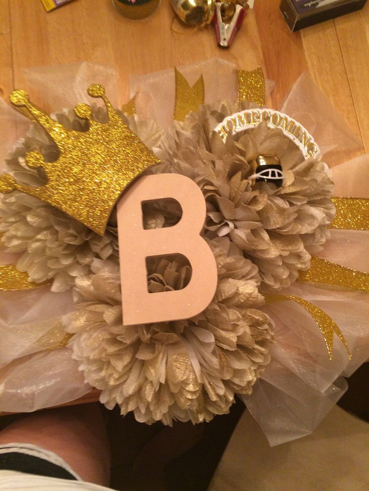 Homecoming Mum Top