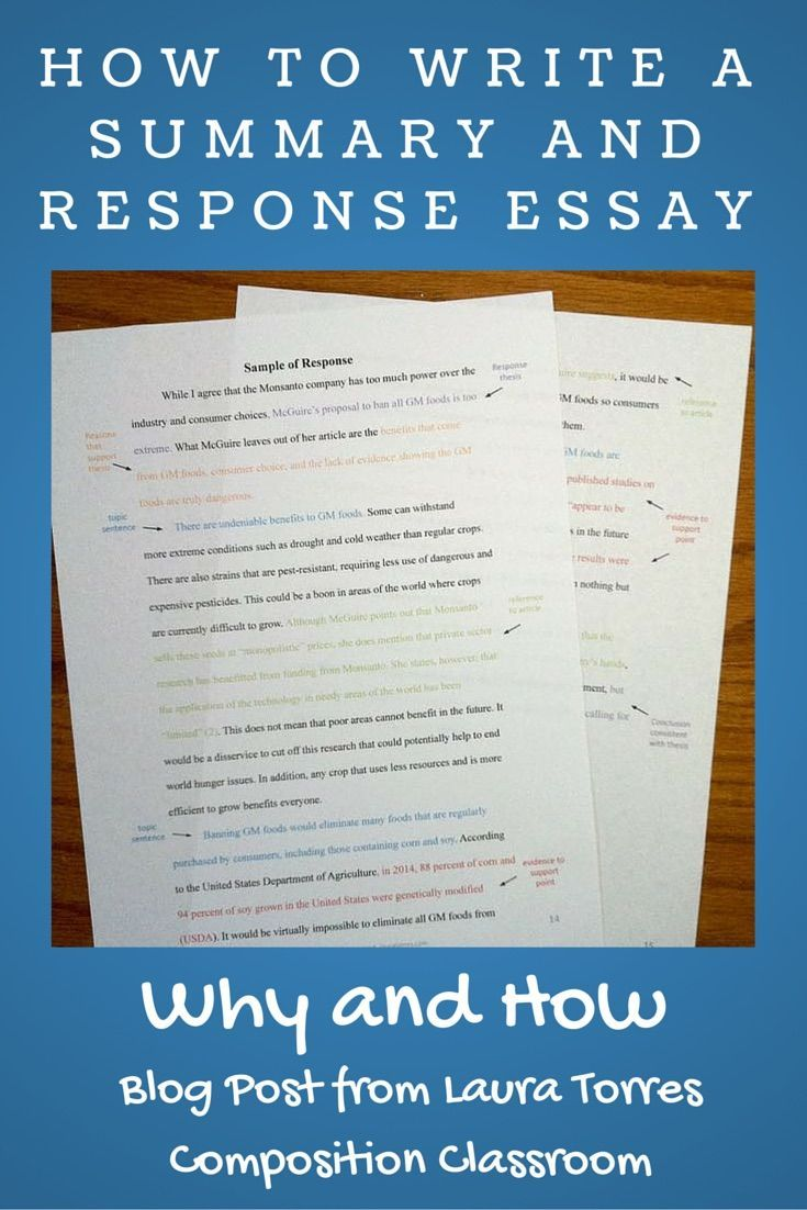 How to Write a Reading Response Essay with Sample Papers