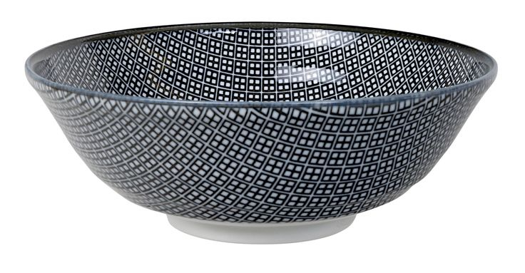 Tokyo Design Studio - Nippon Black Soba Bowl 21x7.8cm Square / The Oriental Shop - 15 €