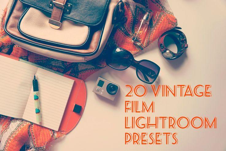 20 Lightroom Filme Presets Vintage Bundle Effect são nossa grande coleção de Lightroom 4, 5 e 6 presets. Estes presets podem ser usados para qualquer foto que você tem. Usá-los em sua fotografia diária e salvar o seu precioso tempo. Nós fizemos o trabalho duro e tem construir presets de alta qualida