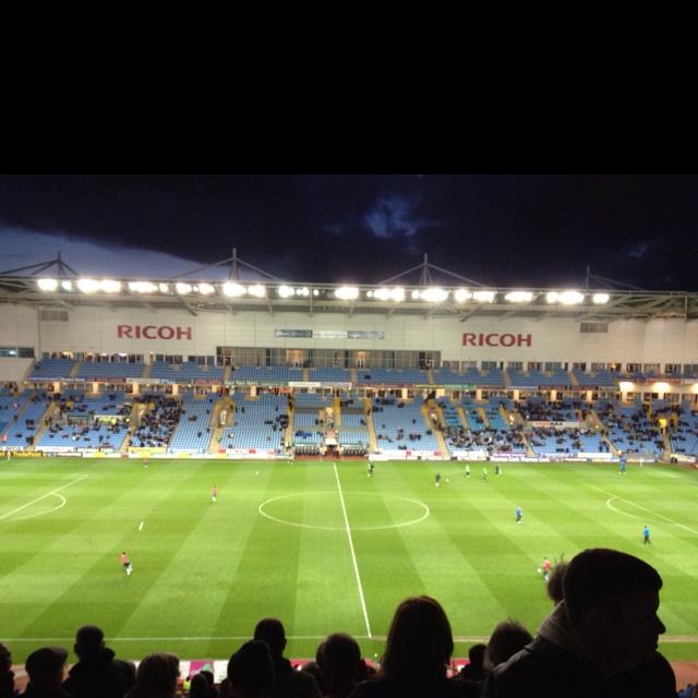 #ricoharena home of Coventry city FC