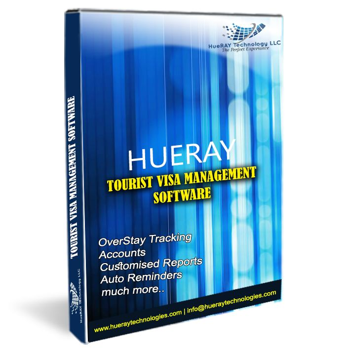 Visa Management Software For Interlink Tours  Hueray Technology Successfully install Visa Management Software For Interlink Tours.our software application developer develop travel software and Completely it integrated With EDNRD System.it generate overstay and automatically send mail to the customer.Easy and fast searching visa applications by name, by EDNRD application and visa numbers, by passport number.you will get all reports also.