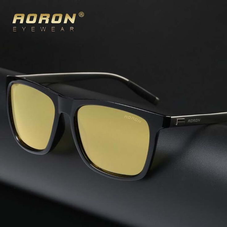 Fashion Brand Hot Sale Night Driving glasses Anti Glare Glasses For Safety Driving Sunglasses Yellow Lens Night Vision Goggles