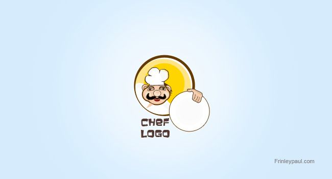FREE Chef Logo Design Vector Source File (PSD)
