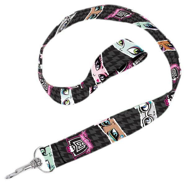 Monster High Print Lanyards   Youth Party Favors