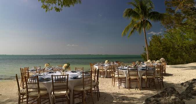 Soak in the tropical oasis while celebrating at #Hilton Key Largo Resort.