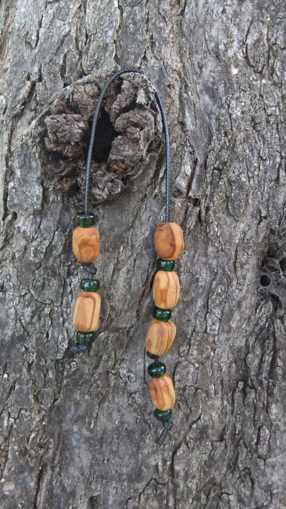 Greek Olive Wood Toy / Worry Beads or Komboloi by ellenisworkshop