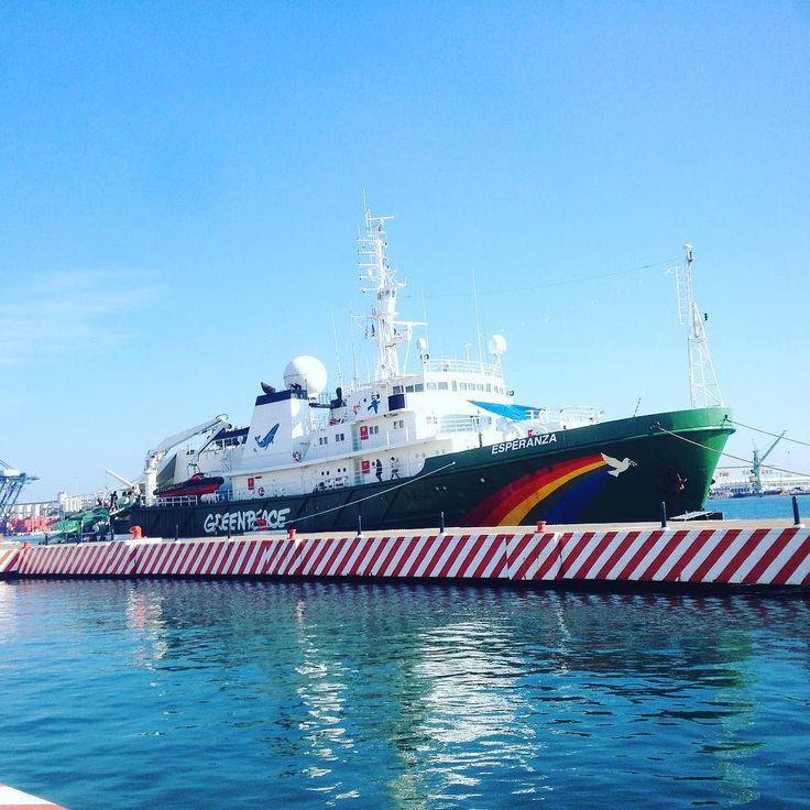 Open Boat last day #greenpeace #esperanza #mexico by richimself