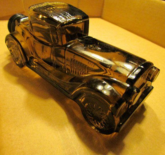 Vintage Avon Sterling Six Car Decanter Vintage Avon